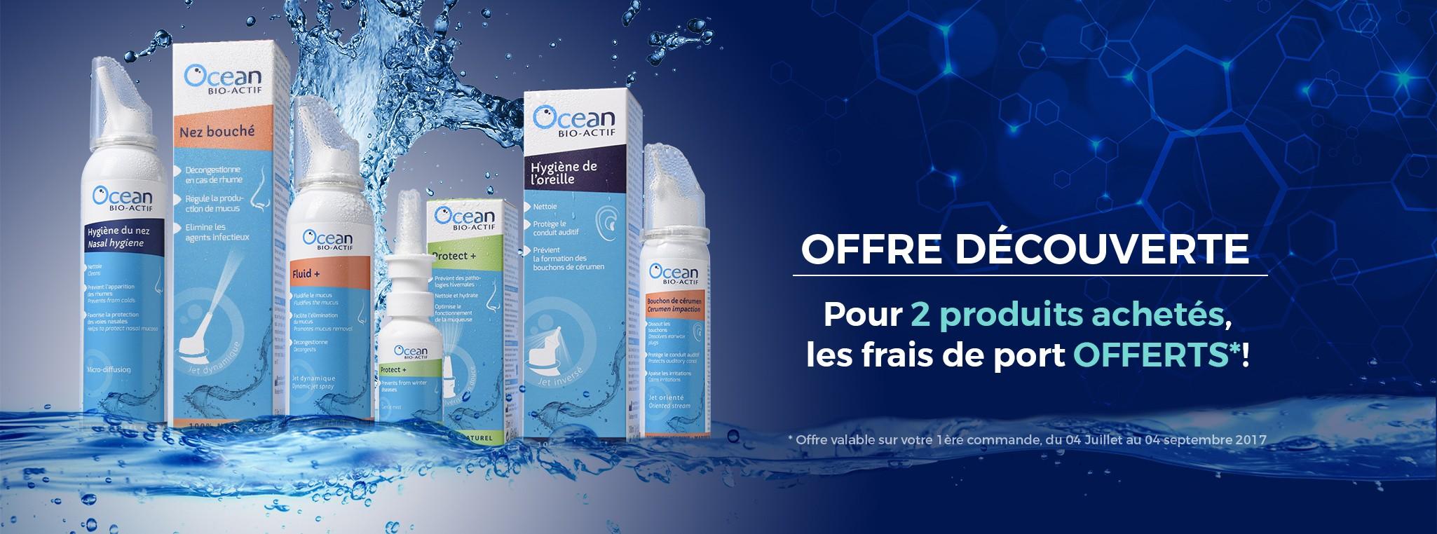 Offre découverte gamme Océan Bio Actif